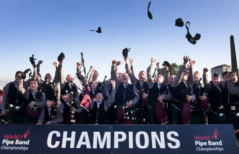 SLOT @ Glasgow Green : World Champions 2010
