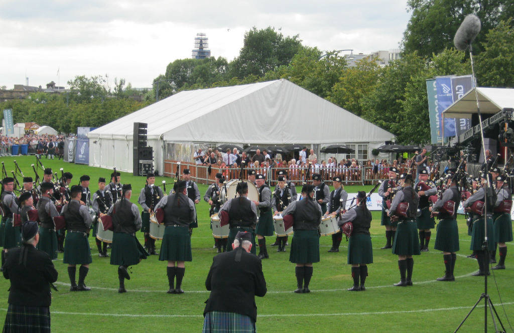 SLOT in 2010 @ The World Pipe Band Championships